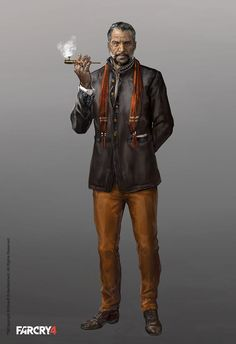 Far Cry 4 Character Concept Art by Aadi Salman
