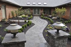 refers to hard landscape materials in the built environment structures that are incorporated into a landscape. Landscape Bricks, Landscape Materials, Landscape Plans, Landscape Design, Landscaping Near Me, Landscaping Supplies, Landscaping Company, Garden Landscaping, Concrete Curbing