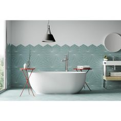 Kavala Aqua Matte Porcelain Tile - 11 x 13 - 100711027 Floor Preparation, Polished Porcelain Tiles, Bath Tiles, Shower Floor, Engineered Hardwood, Floor Decor, Wall Patterns, Countertops, Aqua