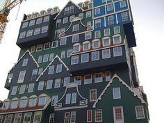 architecture in Zaanstad, The Netherlands