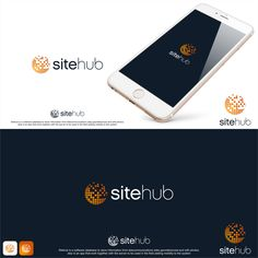 Design a new logo for Sitehub the database for site telecom information by Rully89