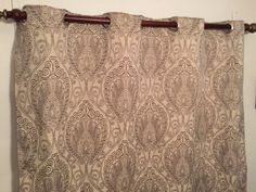 """Large 1 1/2"""" grommeted reversible curtains-DEPOSIT"""