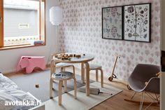 Lastenhuoneen hempeä sisustus | Avotakka