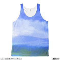Landscape All-Over Print Tank Top