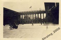 Pałac Saski podczas niemieckiej okupacji.