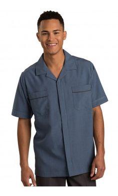 Men's Riviera Blue Pinnacle Housekeeping Service Shirt