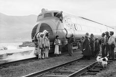 Long before there were bullet trains and high-speed light rail systems, people experimented with creating super-streamlined trains that could whisk people across the country in Googie splendor. In some alternate universe, these streamlined trains of the 1930s, 1940s and 1950s are still in service.