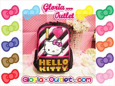 "1pc New Hello Kitty Backpack Computer Bag 16"" Large Black School Best Girl Gift  #hellokitty #sanrio #loungefly #travel #backpack #wheeled #Roller #school #summer #satationary #notebook #lunchbox #hellokittyaddict #hellokittylover #Gift #fashion #cute #love #toy #beauty #handbag #wallet #purse #runway #kids #girls #bag"