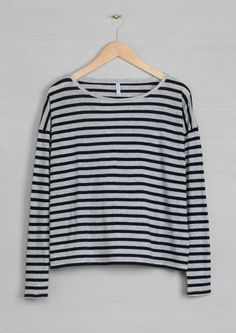 Long-sleeved cotton top | Long-sleeved cotton top | & Other Stories