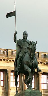 Wenceslaus I, Duke of Bohemia - Martyr and patron Saint of Bohemia, the Czech Republic and the city of Prague (Wenceslaus Square) Prague 1, Prague Czech Republic, St Wenceslaus, Equestrian Statue, Central And Eastern Europe, Europe Photos, Most Beautiful Cities, Belle Photo, Destinations