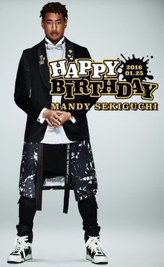 EXILE / GENERATIONS from EXILE TRIBE 関口メンディー Sekiguchi Mandy