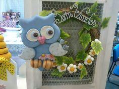 Ideas de la web Owl Crafts, Clay Crafts, Diy And Crafts, Crafts For Kids, Clay Ornaments, Ornaments Design, Polymer Clay Miniatures, Polymer Clay Creations, Clay Owl