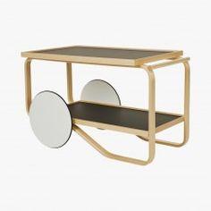 Tea Trolley, Table roulante, Designer AALTO Alvar 1936 - Artek