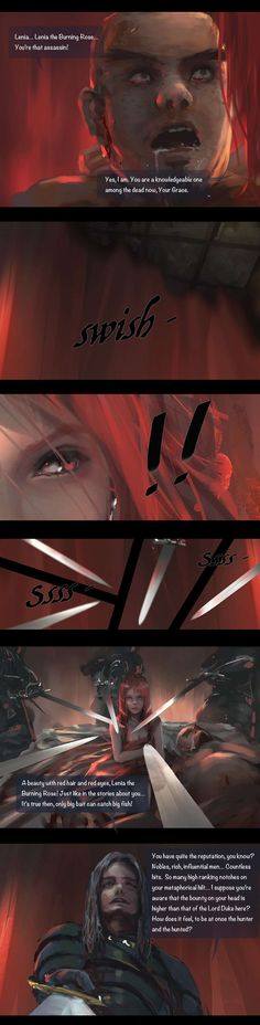 GhostBlade :: Chapter 5: The Burning rose (Part II) | Tapastic Comics - image 1