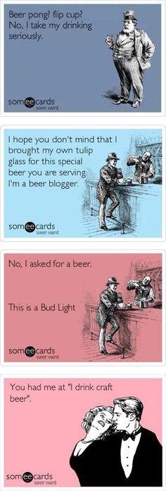 We Take our beer Seriously Beer Memes