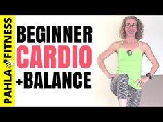 30 Minute Bodyweight HIIT for Beginners | BEGINNER Cardio TABATA + BALANCE Workout, No Equipment - YouTube