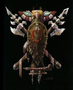 На экране: The_Art_of_World_of_Warcraft_p039.jpg.