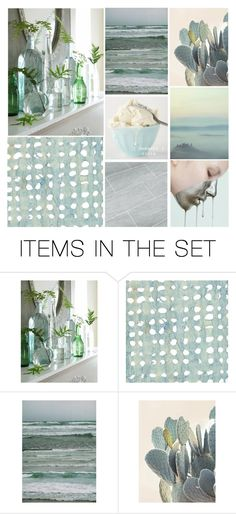 """Featured Set // Shades of Blue // Contest"" by mandalore ❤ liked on Polyvore featuring art"