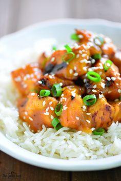 Le poulet à l'orange...en brochette sur le barbecue - Recettes - Recettes simples et géniales! - Ma Fourchette - Délicieuses recettes de cuisine, astuces culinaires et plus encore!