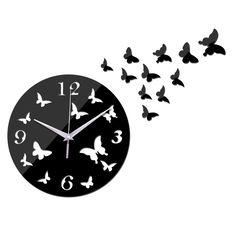 2017 new hot sale quartz acrylic pastoral wall clock modern home decoration luxury mirror clocks crystal watches free shipping