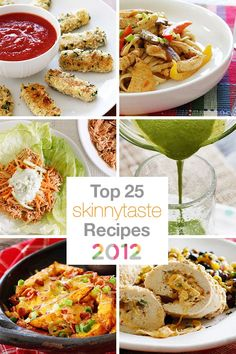 Top 25 Skinny Recipes 2012 - A one stop pin for the best of 2012! #weightlossmotivation