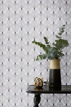 dk wallpaper-by-ellos tapet-lavon One Bedroom Apartment, Chanel Boy Bag, Contemporary Furniture, Beige, Shoulder Bag, Rustic, Antiques, Wallpaper, Kulta