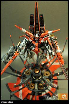 "Project: Leiv. Customized GN-007 Arios (from Gundam 00 Series) by ""Ed"". #Gundam #GunPla"