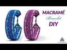 Chevron Friendship Bracelets, Friendship Bracelets Tutorial, Diy Bracelets Easy, Handmade Bracelets, Macrame Jewelry Tutorial, Macrame Bracelet Tutorial, Crochet Bracelet, Macrame Wall Hanging Patterns, Macrame Plant Hangers