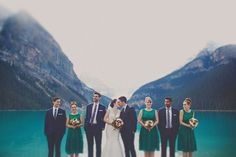An Elegant Lake Louise Wedding   Weddingbells