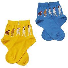 didizizi Evolution socks  didizizi 人類の進化のくつした