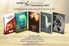 În curând: lansările Crux Publishing GAUDEAMUS 2017