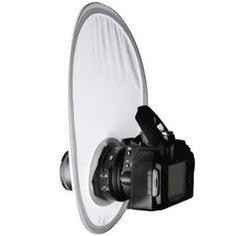 Interfit Strobies Small On Camera Diffuser --- http://www.amazon.com/Interfit-Strobies-Small-Camera-Diffuser/dp/B002WGJFJW/?tag=affpicntip-20