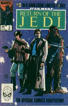 Star Wars: Return of the Jedi 3: Mission to Endor is the third issue of the Star Wars: Return of the Jedi mini-series and is part of the Marvel Star Wars series of comic books. Part three of a four issue mini-series of the Return of the Jedi movie adaptation.