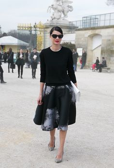 Street Style Models StreetStyle : Parisienne | Fashion Trends - Lelook