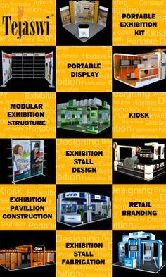 Tejaswi Exhibitions, Display, Portable Exhibition Kit