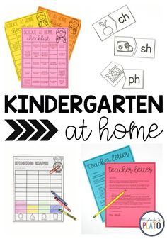 Kindergarten at Home