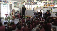 Rongoa workshop at Te Mahia school