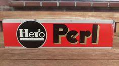 Blikken Bordje Hero Perl