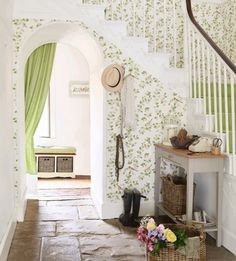 8 standout hallway decorating ideas  - housebeautiful.co.uk