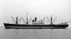 Glenbeg, an EC2-S-c1 Liberty Ship(7,234 Tons) built by Bethlehem Fairfield Shipyard & delivered to Britain & MOWT in April '44 as SS Samjack, managed by Alfred Holt & Co. Purchased by Ocean SS Co(A.Holt & Co) in '47, renamed SS Tydeus. '50 purchased by Glen Line & renamed SS Glenbeg. Sold in '58 to Augusto Moretti as SS Roan. '60 sold to West African Carriers as SS Jucar, Scrapped '67 in Japan