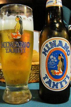 Hinano - Tahiti. Hawai'ian Beer