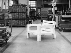 LARS armchair at wood factory 2015