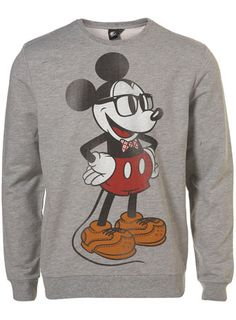 GREY GEEK MICKEY MOUSE SWEATSHIRT ($20-50) - Svpply