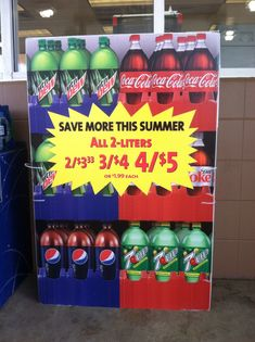 A real-life example of comparing unit rates found at Speedway.