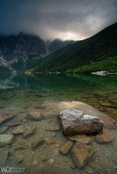 Guardian of the lake, Tatra Mountains by WojciechDziadosz on DeviantArt