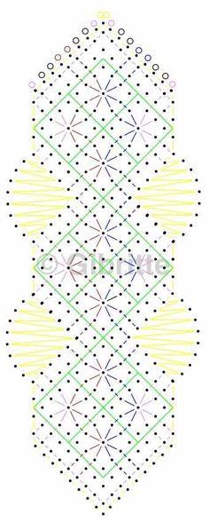 4ième marque page - Dentelles et créations de Gibritte