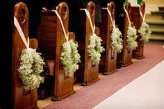 Image detail for -wedding-wreaths-church