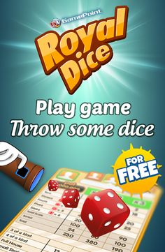 Download the best traditional dice game you know & love! Play Gamepoint Royaldice for free with your friends anywhere and anytime�