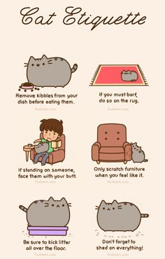 Pusheen The Cat - #Pusheen The Cat, # Cute, #Fun - Google+