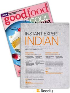 Suggestion about BBC Good Food Aug 2017 page 36